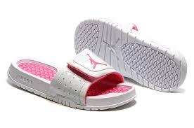 jordan shoes 2017 for girls. girls jordan hydro 2 retro sandals in white pink online-1 shoes 2017 for