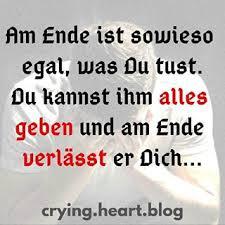 Liebeskummer Sprüche At Cryingheartblog Instagram Profile