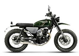 hanway scrambler 125 125cc lowest rate finance around uk delivery