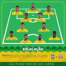 نيمار وفينيسيوس يقودان هجوم البرازيل ضد تشيلى فى تصفيات كأس العالم :اليوم  السابع