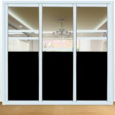 Window Film For Privacy And Light Us 33 02 20 Off 1 52m X 1m Blackout Window Film Light Self Adhesive Privacy Room Darkening Window Cling Window Tint For Home Office In Decorative