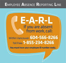 Employee Absent Earl Employee Absence Reporting Line Providence Health Care