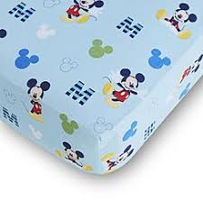 disney baby mickey mouse fitted crib sheet baby mickey crib set design