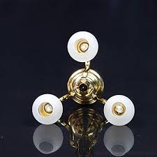 zeroyoyo 1 12 dollhouse miniature round shape 3 arm table lamp led light ceiling lamp brass chandelier