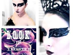 how to do a black swan make up