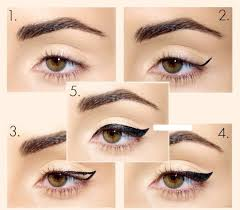 five diffe eyeliner styles for beginners with steps pictures
