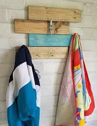 Boat Cleat Coat Rack Horizontal Hanging Plank Nautical Coat Rack with 100 heavy duty Boat 49