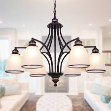 get ations american country wrought iron chandelier glass chandelier with restaurant minimalist living room lamp bedroom lamp european