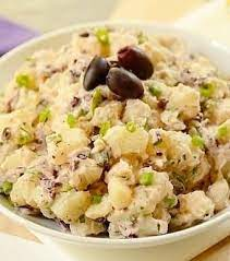 Simmer until potatoes are tender but not mushy, 8 to 10 minutes. Brazilian Potato Salad Easy And Delish