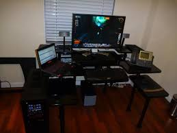 home office gaming computer. Image Of: Gaming Computer Desk Ideas Home Office H