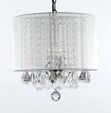 38 most fabulous crystal and acrylic swag plug in chandelier hook faux chandeliers white with accents