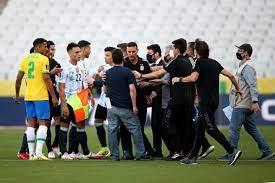 Brazil vs Argentina suspended as health ...