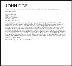 create cover letter sample cover letter for graduate assistantship