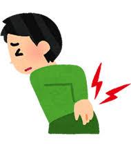 「ぎっくり腰 イラスト」の画像検索結果