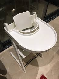 stokke tripp trapp chair w harness and tray