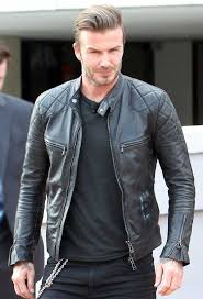 snap tab collar mens quilted black beckham leather jacket