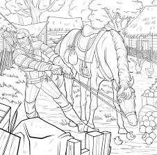 Small Picture Dark Horse Comics Announces THE WITCHER Adult Coloring Book