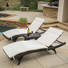 Coral Coast Sola All-Weather Wicker Adjustable Chaise Lounge - Set of 2 |  Hayneedle