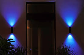Blue Outdoor Lights Philips Hue Gets Three New Outdoor Lights The Verge