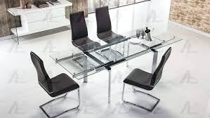 smoked glass dining table extendable smoked glass dining table frosted glass dining table singapore