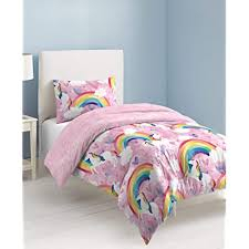 dream factory unicorn rainbow comforter