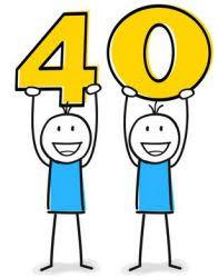 40 Sprüche Für Glückwünsche Zum 40 Geburstag