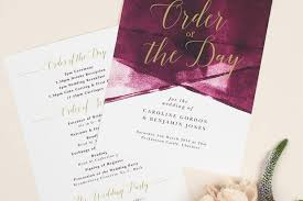 Wedding Order Of Service Templates Hitched Co Uk