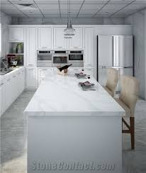 artificial marble quartz stone countertops non porous surface