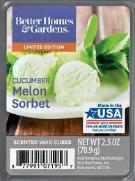bhg cuber melon sorbet with bonz text