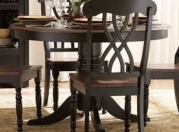 black dining room set round. Ohana 48in Round Dining Table - Black Room Set N