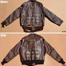 historic leather jackets repaired