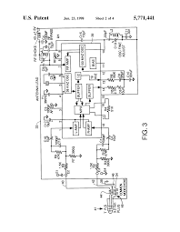 Diagram large size patent us5771441 small battery operated rf transmitter for drawing electrician charges