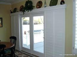sliding glass door valance doors valances wood for with vertical blinds v
