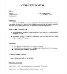 How Create A Resume For Fresher Great Format Job Application