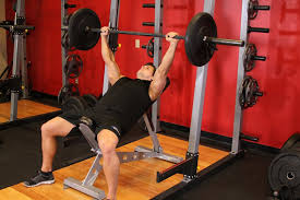 Barbell Incline Bench Press MediumGrip U2014 How To Do It Video Of Incline Bench Press Grip