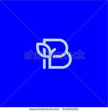 stock vector the letter b beautiful vector logo