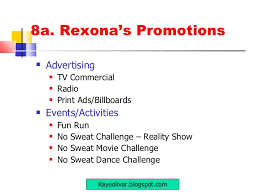 Advertising Plan Mesmerizing V44 Rexona 44 Step Marketing Plan R Olivar