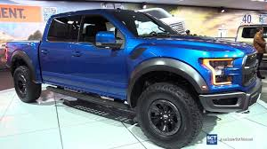 ford raptor interior blue. 2017 ford f150 raptor supercrew exterior and interior walkaround detroit auto show youtube blue