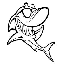 Haaien Kleurplaten Leuk Voor Kids