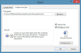 What Is Another Word For Document Different Ways To Link Another Document In Word