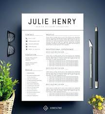 Modern Resume Template Free Contemporary Best Templates Word Ideas ...