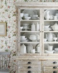 Dish Display Cabinet Where Do You Store Your Dishes The Inspired Room