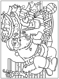 Small Picture Kids n funcom 85 coloring pages of Christmas Santa Claus