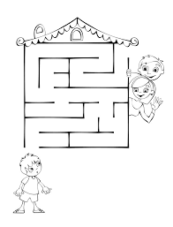 Maze clipart preschool - Pencil and in color maze clipart preschool