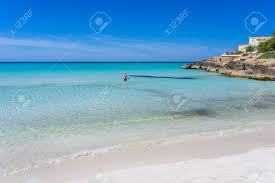 beach es trenc beautiful coast of mallorca spain stock photo 82794880