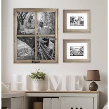 8 Pane Window Frame Better Homes And Gardens 4 Opening Rustic Windowpane Collage Frame