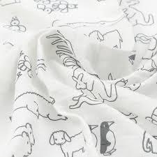4 layer muslin blanket baby