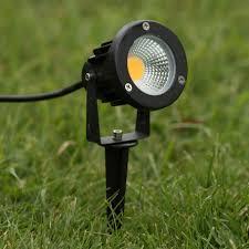outdoor garden spike light 5w led 12v low voltage