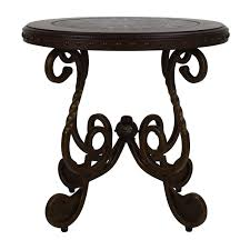 ashley furniture ashley rafferty round end table second hand