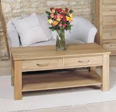 baumhaus mobel oak 4 drawer coffee table baumhaus mobel oak 2